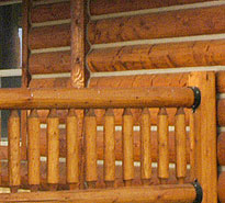 Whisper Creek Log Homes Porches