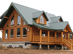 Whisper Creek Log Homes Windows