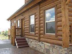 Explore Our Exteriors Whisper Creek Log Homes