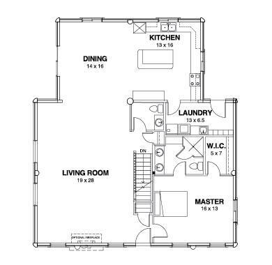 Willow Creek Series Floor Plans, Willow Creek -01