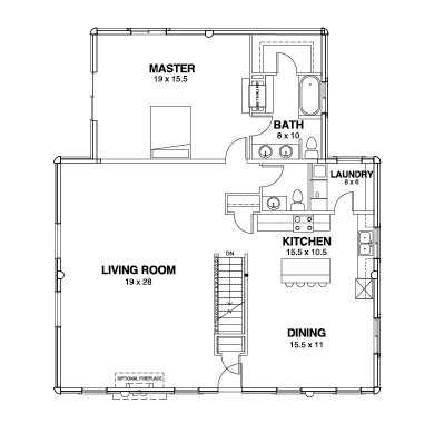 Willow Creek Series Floor Plans, Willow Creek -02