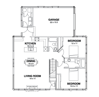 Willow Creek Series Floor Plans, Willow Creek -03
