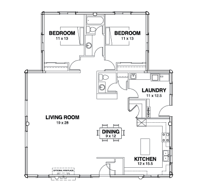 Willow Creek Series Floor Plans, Willow Creek -04