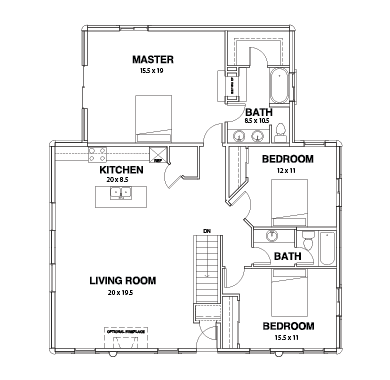 Willow Creek Series Floor Plans, Willow Creek -05