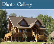 Whisper Creek Log Homes Photo Gallery