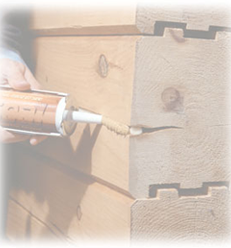 Log Home Products, Caulking Image